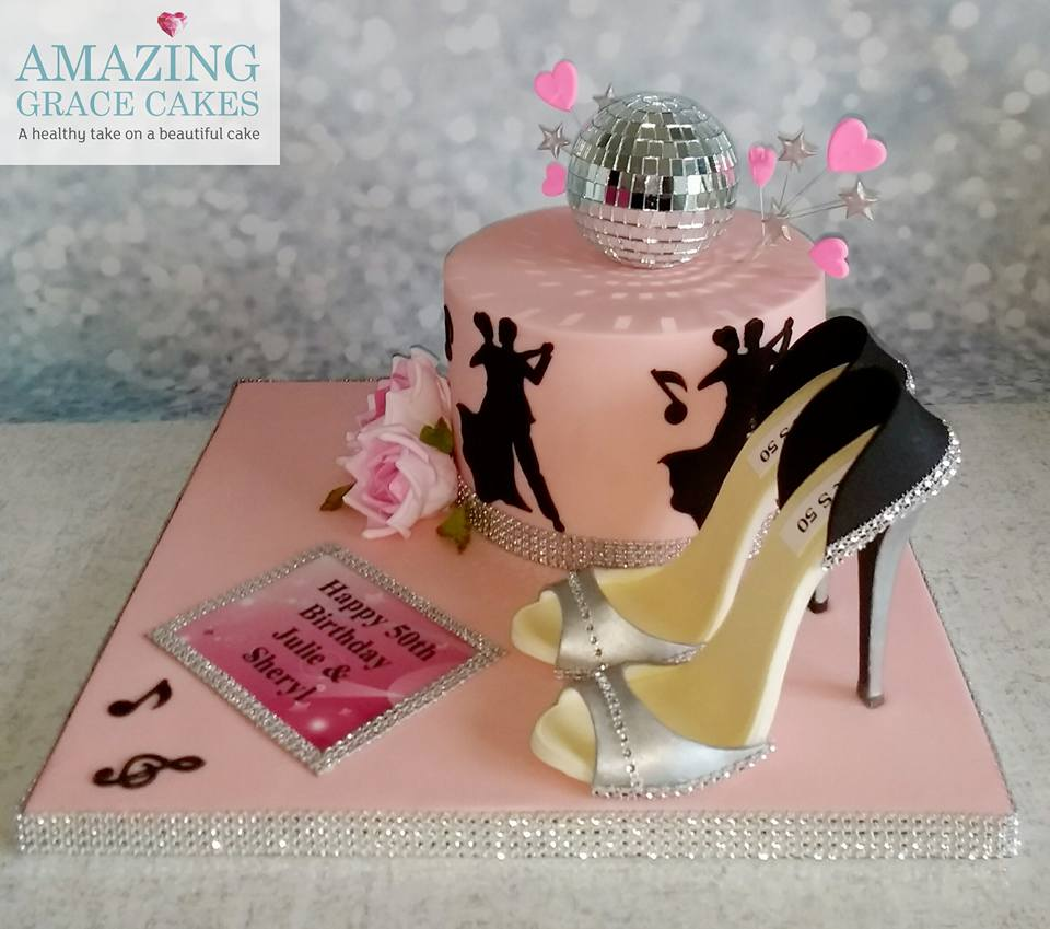 Strictly Come Dancing Cake Amazing Grace Cakes A