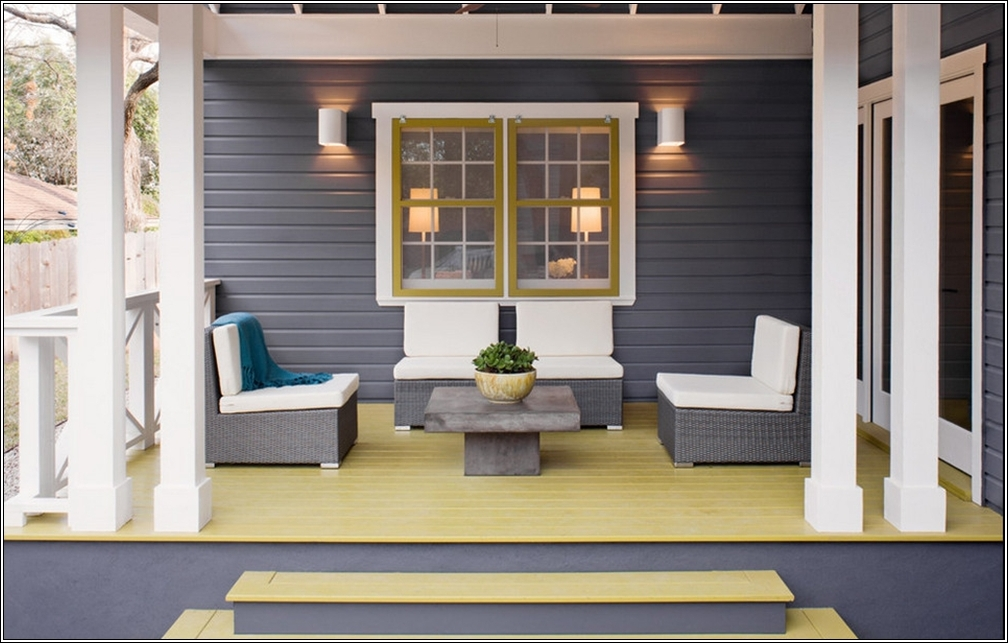 Design Your Home In Yellow And Gray !