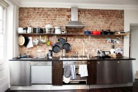 Small Kitchen Design Single Wall | afreakatheart