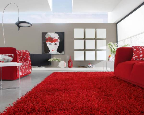 Interior Design With Red Carpet Vtwctr