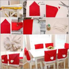 Christmas Chair Covers Pinterest Hanging Nest Make These Amazing Santa Hat For