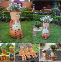 10 Awesome Decoration Ideas with Clay Pots