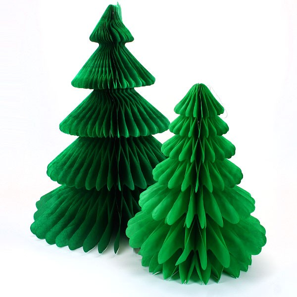 Martha Stewart Crepe Paper Bells With Christmas Decorations About To Come Out