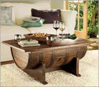 Recycle a Wine Barrel into an Amazing Coffee Table