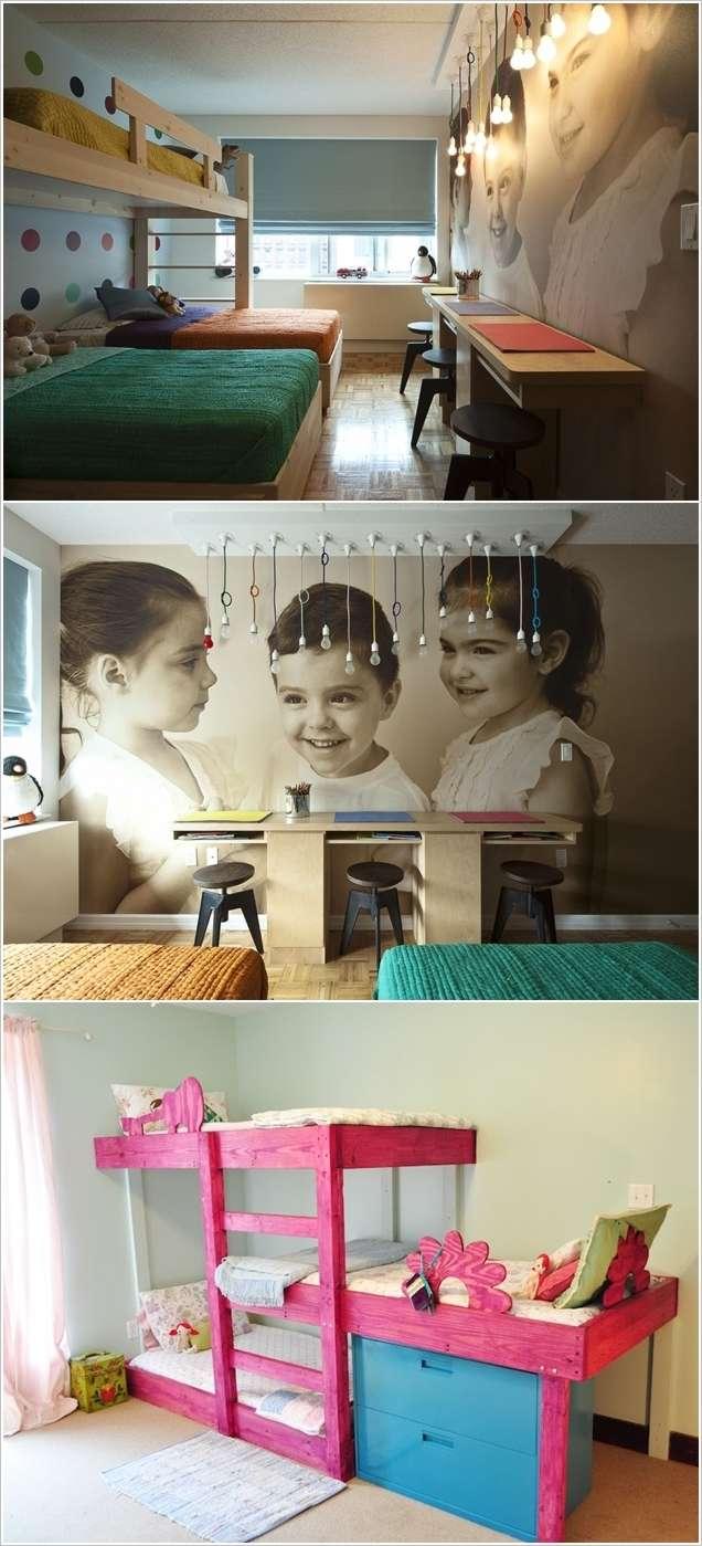5 Fabulous Bedroom Ideas for Triplets with Triple Fun