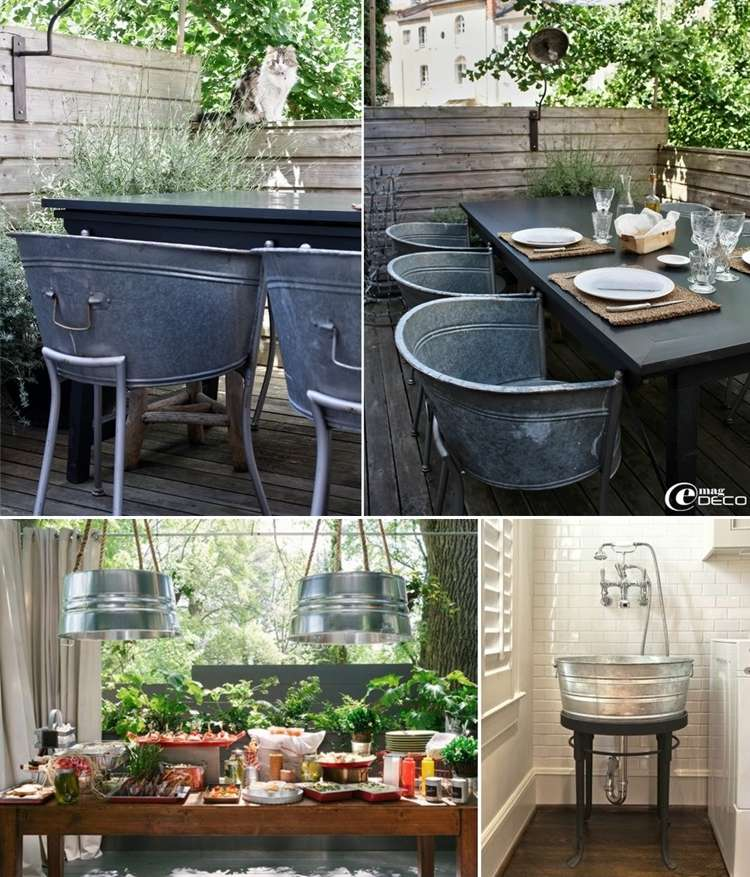5 Ideas to Decorate with Galvanized Buckets That are Just