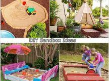 5 DIY Sandbox Ideas for Your Kids - Interior Design