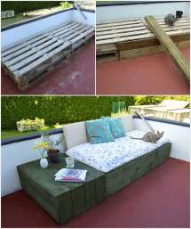 Pallet Daybed Ideal Balcony Patio