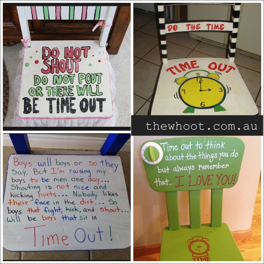 time out chair ideas pallet adirondack 16 for kids