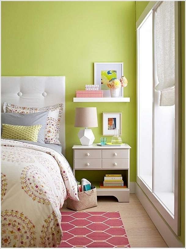 10 Clever Storage Hacks For A Tiny Bedroom