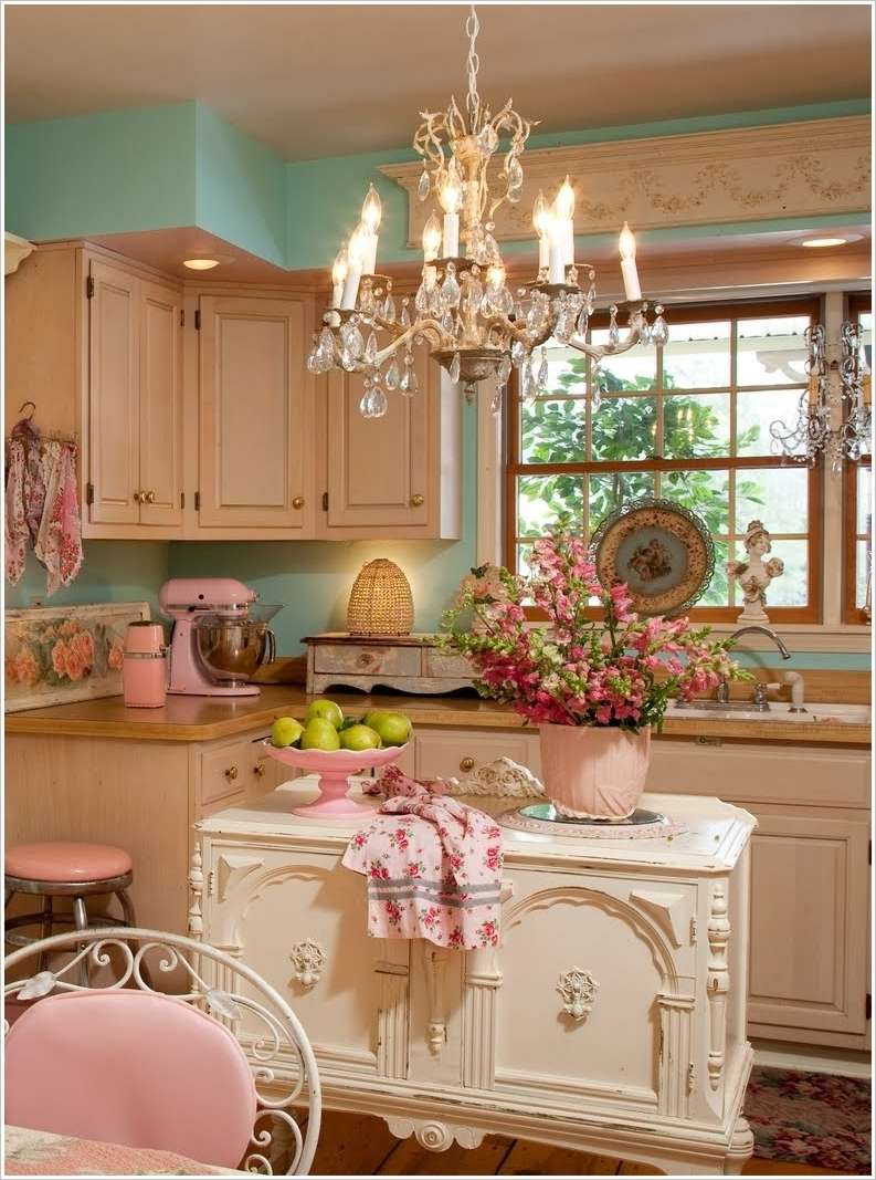 8 Shabby Chic Kitchens That Youll Fall in Love With  Fun Corner