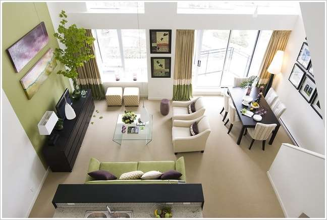 living room with sofa and two accent chairs decor mirrors 10 amazing furniture arrangement ideas image via houzz 5 a sectional