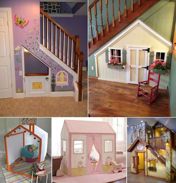 Fun And Cool Indoor Playhouse Ideas Kids