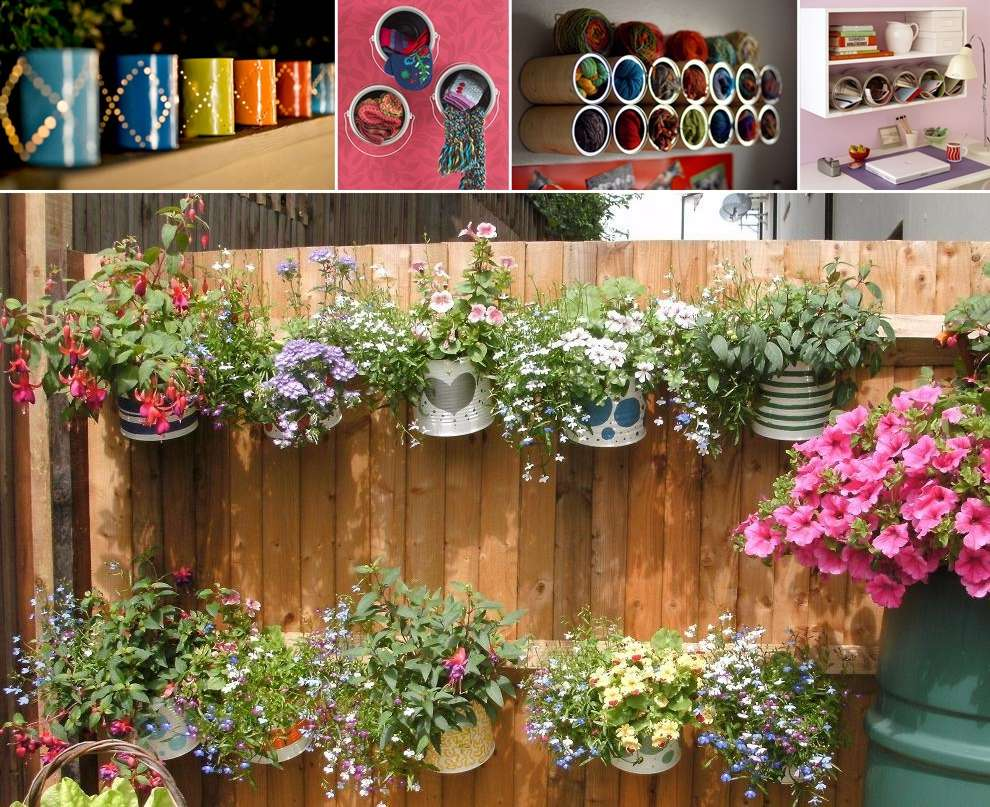 15 Creative Ideas to Recycle Old Paint Cans