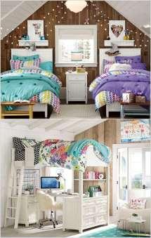 Lovely Teenage Bedroom Wall Decor Ideas