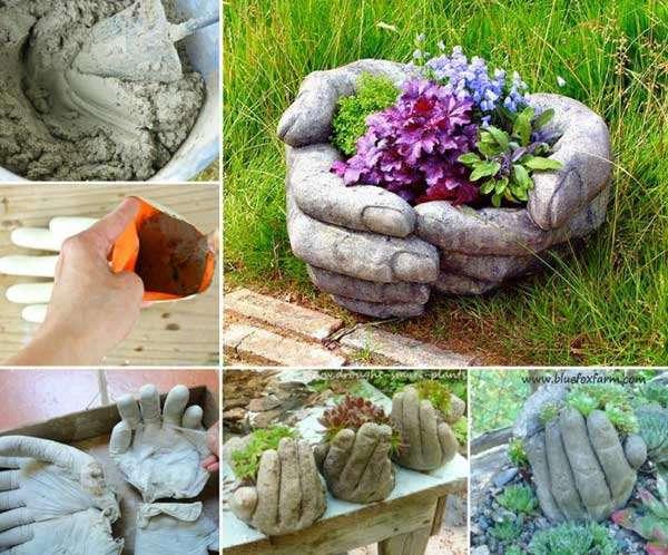 17 Cool And Easy DIY Garden Pot Ideas