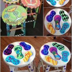 Two Seat Kitchen Table Remodels With White Cabinets 15 Clever Ideas To Recycle Old Bar Stools