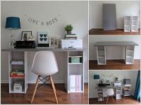 10 DIY Home Office Desks for Your Inspiration