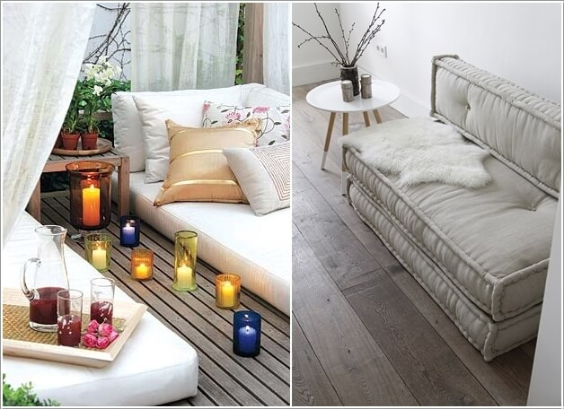 one seat sofa with chaise dog friendly sofas uk 13 cool floor seating ideas you will surely love