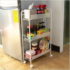 Skinny Kitchen Cabinet Undermount Farmhouse Sink How To Hack The Empty Space Around Your Fridge
