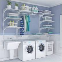 Choose Laundry Room Shelving Suits And Style