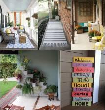 Love Diy Porch Decor Projects Obsigen