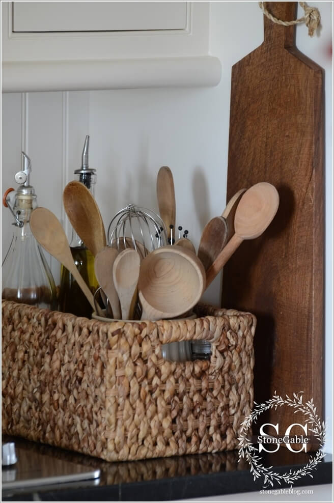 15 Practical Utensil Storage Ideas for Your Kitchen