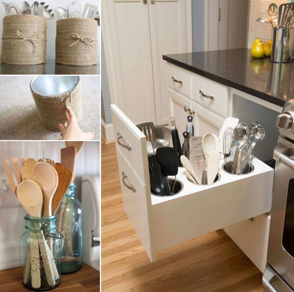 kitchen drawer organizer ideas aid coffee makers 15 practical utensil storage for your