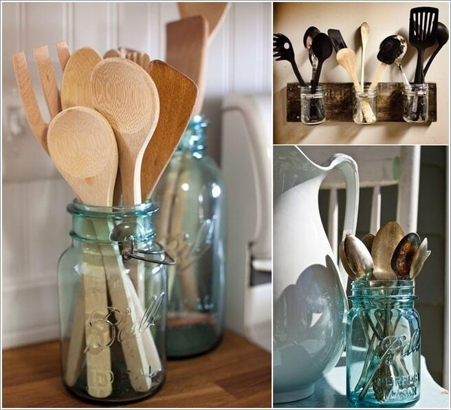 kitchen corner cabinet storage rustic chandelier 15 practical utensil ideas for your
