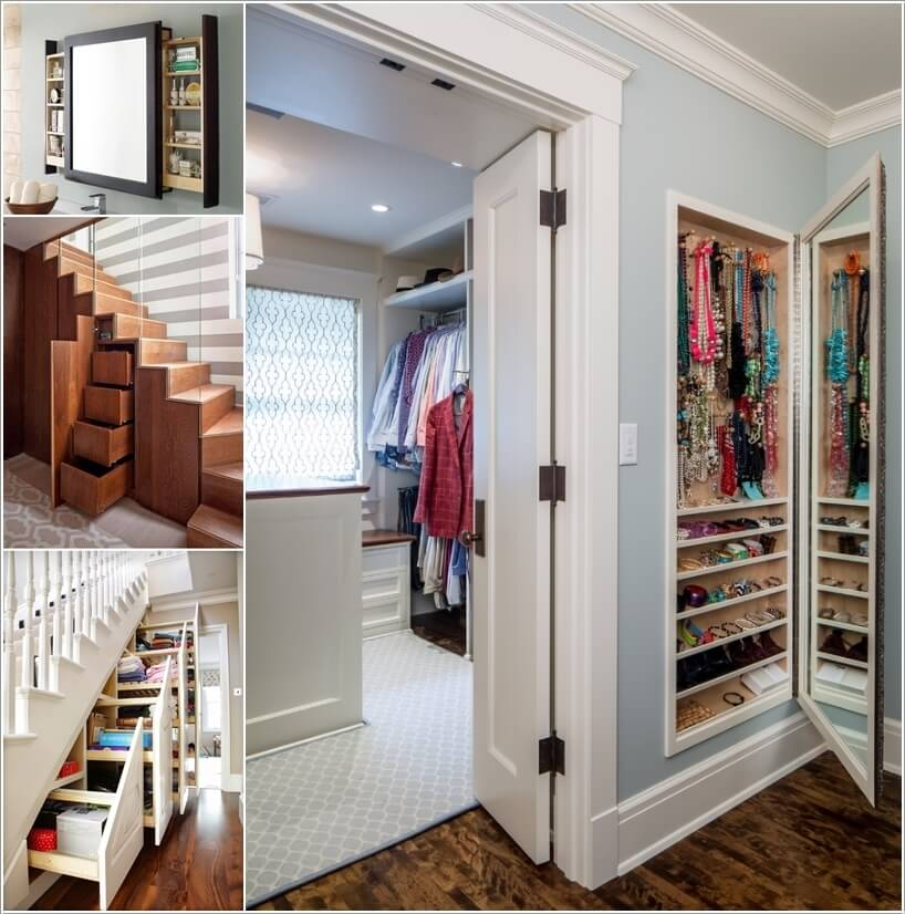 10 Clever Hidden Storage Ideas for Your Home