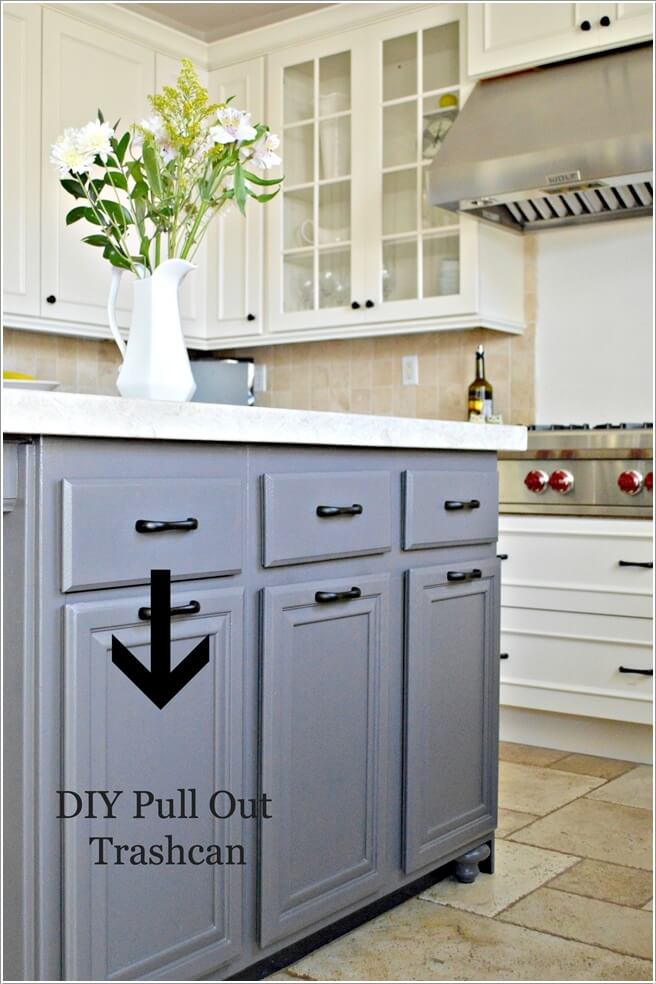kitchen island with trash can store com 10 clever ways to hide a
