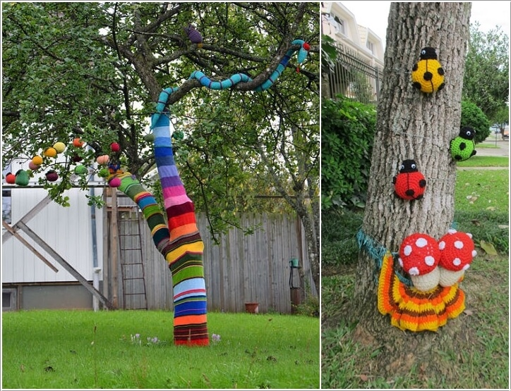 Outdoor Tree Decorations Summer