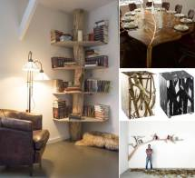 cool tree inspired furniture