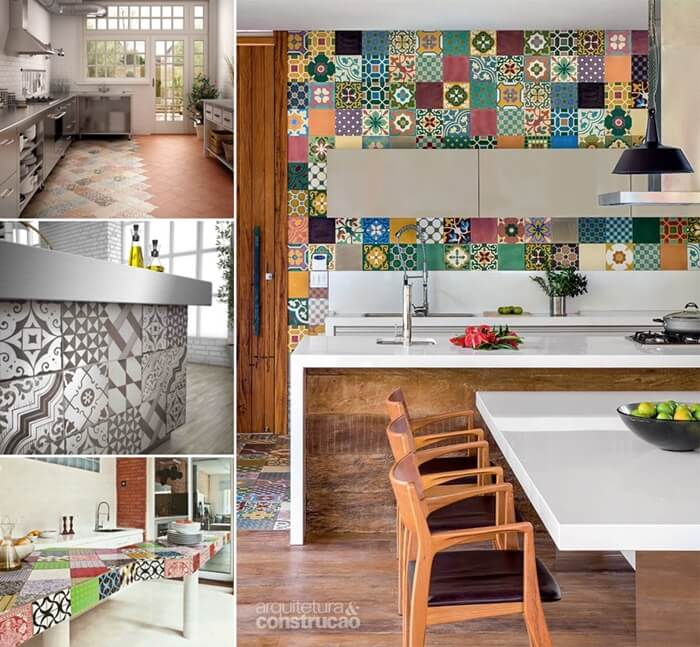 Give Your Kitchen a New Life with Patchwork Design Details