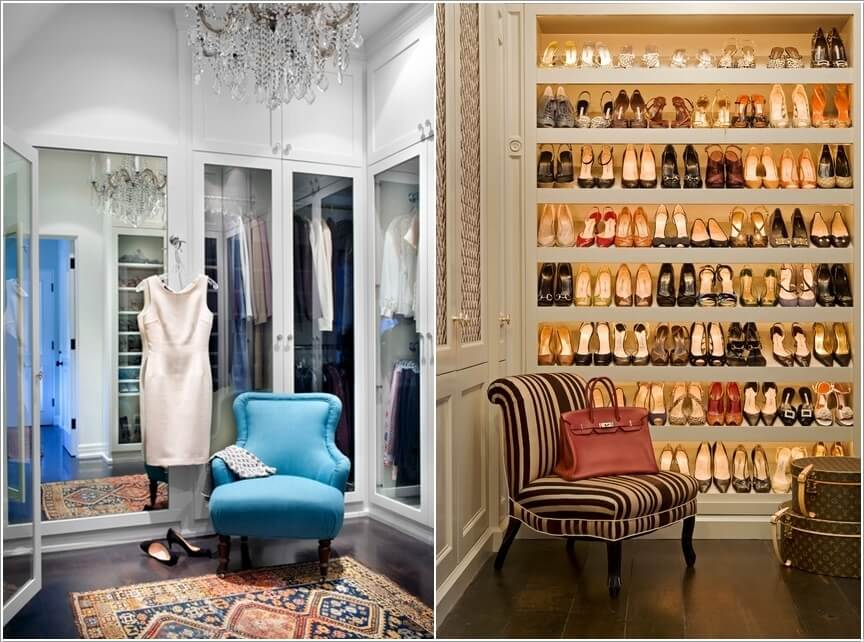 10 Cool Seating Ideas for Your WalkIn Closet