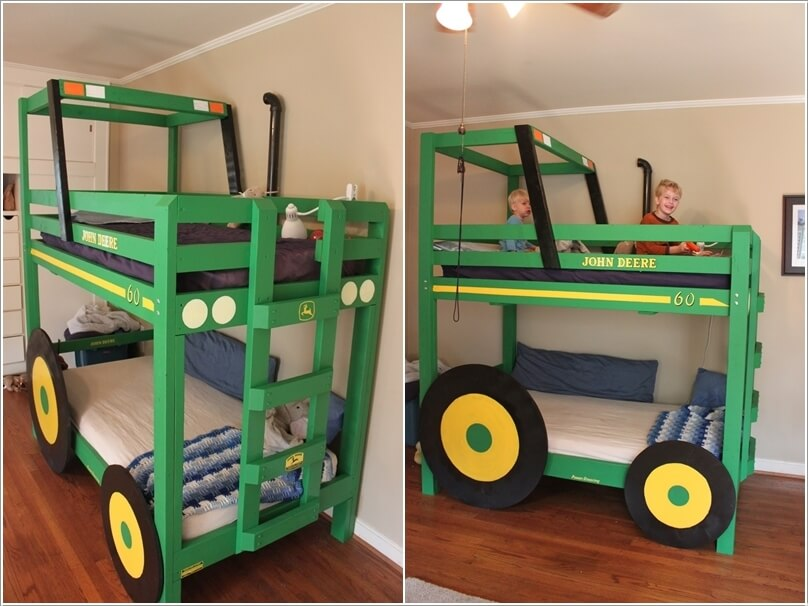 10 Cool DIY Bunk Bed Designs for Kids