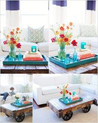 Diy Living Room Table Centerpiece - belle maison: diy ...