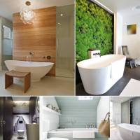 Creative and Interesting Bathroom Wall Designs
