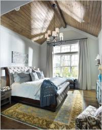 How to Decorate a High Ceiling Bedroom Effectively