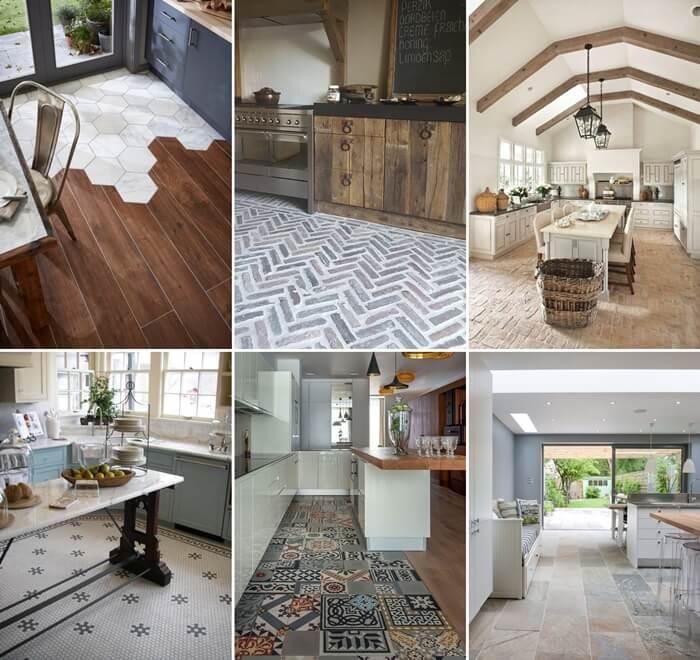 30 Wonderful Kitchen Flooring Ideas You Will Admire