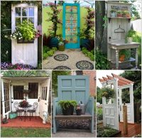 10 Creative Old Door Projects for Your Garden
