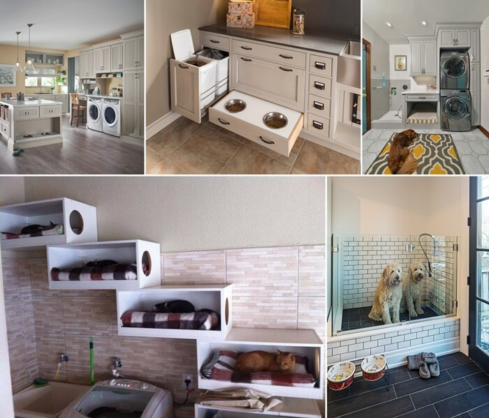Carve Out Some Space in Your Laundry Room for Your Pets