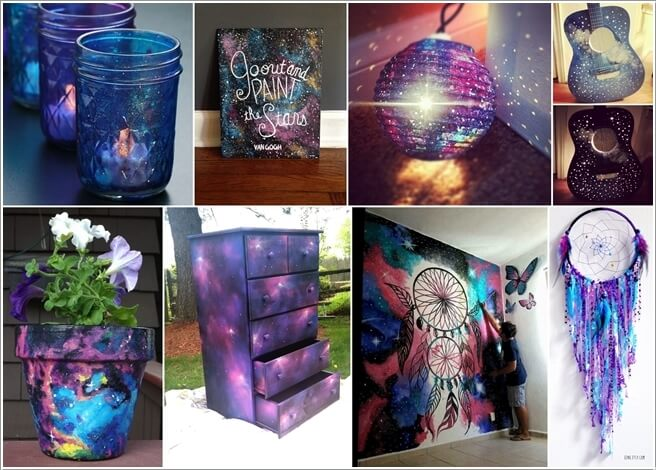 15 Stunning DIY Galaxy Inspired Decor Ideas