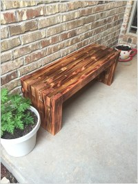 10 Awesome DIY Front Porch Bench Ideas