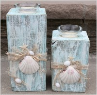 10 Beautiful Beach Candle Holder Ideas