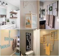 10 Creative DIY Bathroom Wall Decor Ideas