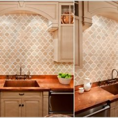 Kitchen Cabinet Spray Paint Sink Mat Decorate Your With Copper Accents