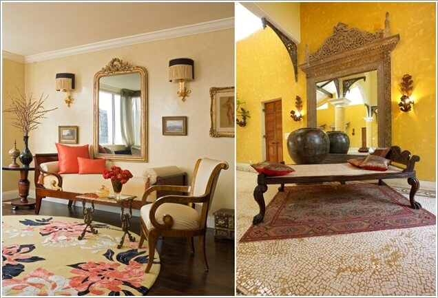 traditional indian living room designs home theater design interior rooms with a divan known commonly as daybed and ornate mirrors