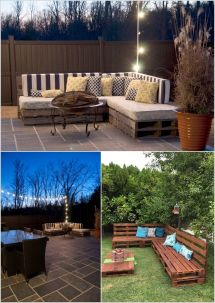 Diy Outdoor Pallet Furniture Ideas