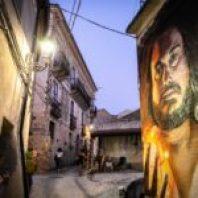 Uno dei murales a Placanica